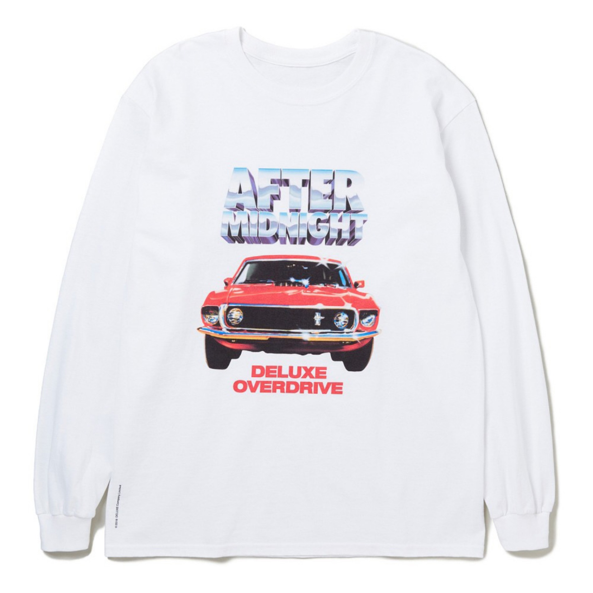 20SS DELUXE AFTER MIDNIGHT L/S T-SHIRTS WHITE