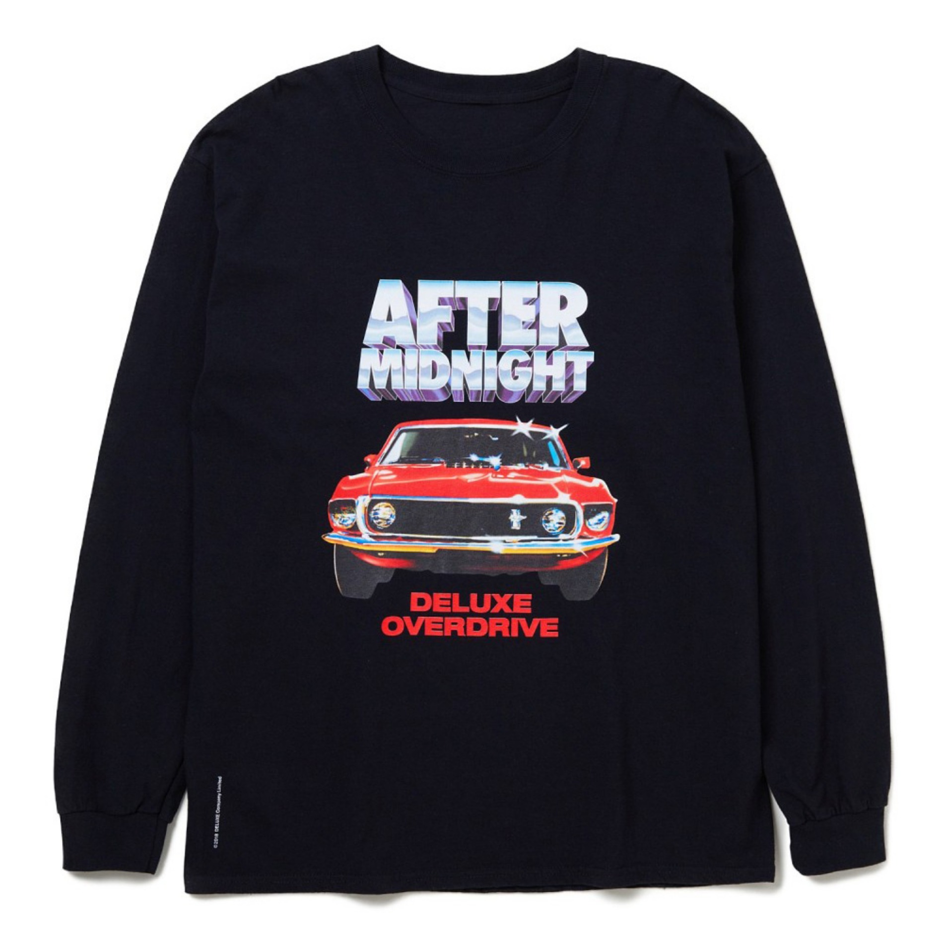 20SS DELUXE AFTER MIDNIGHT L/S T-SHIRTS BLACK