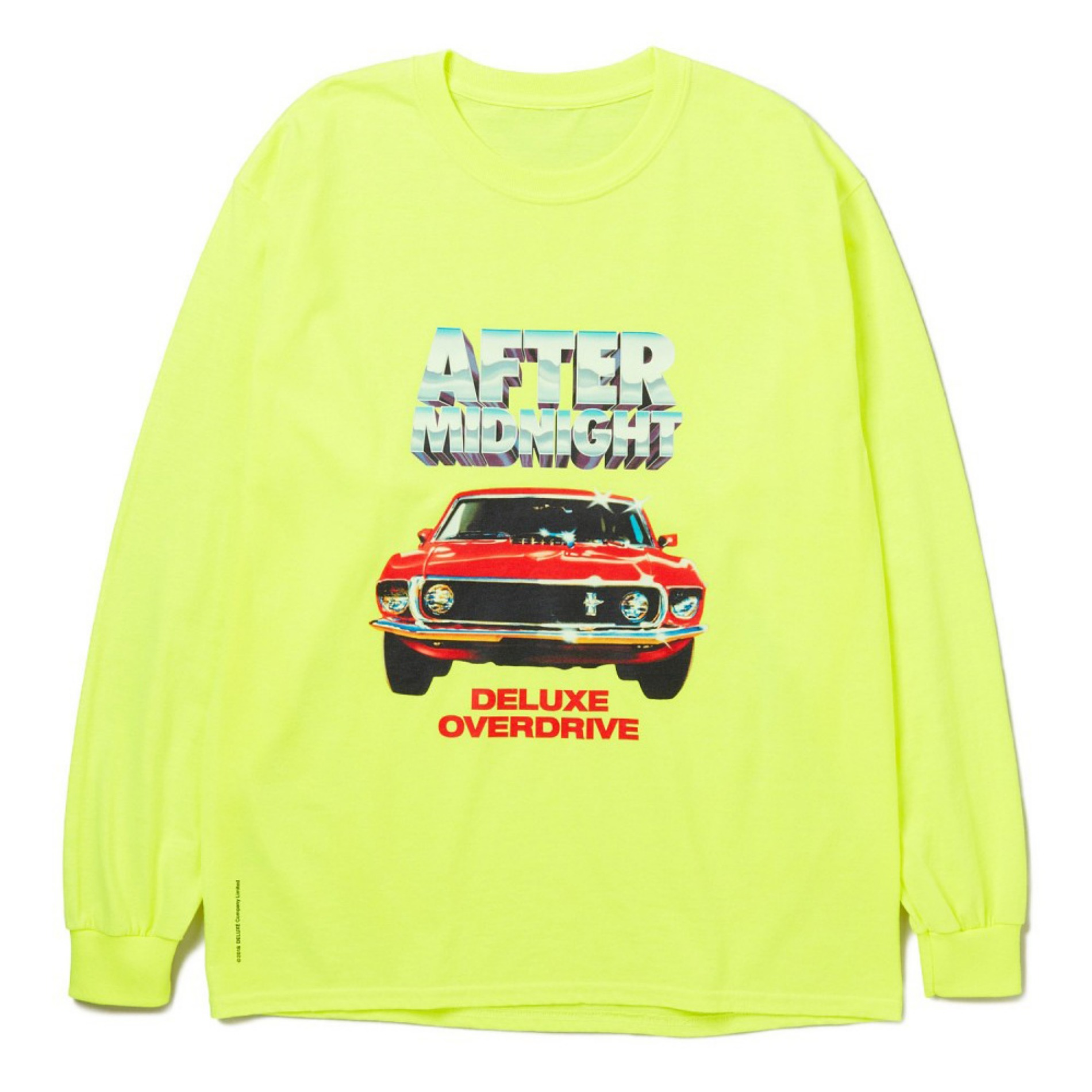 20SS DELUXE AFTER MIDNIGHT L/S T-SHIRTS YELLOW