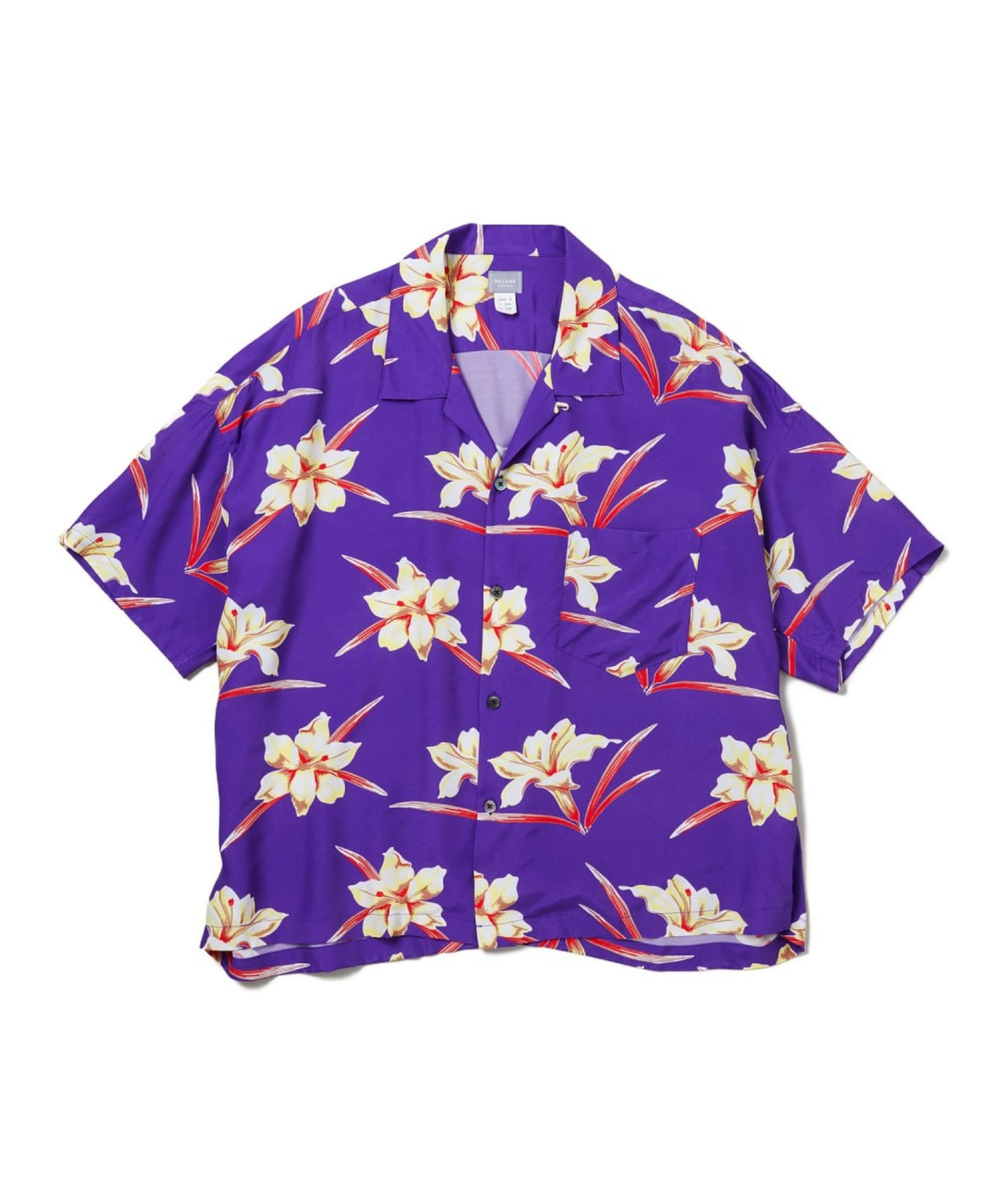 20SS DELUXE AUGUST S/S SHIRTS PURPLE