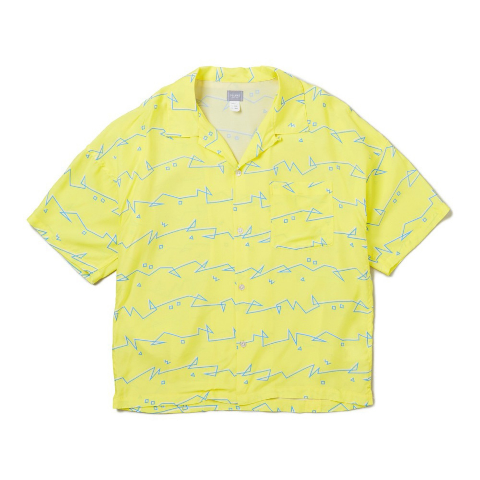 20SS DELUXE DARYL S/S SHIRTS YELLOW