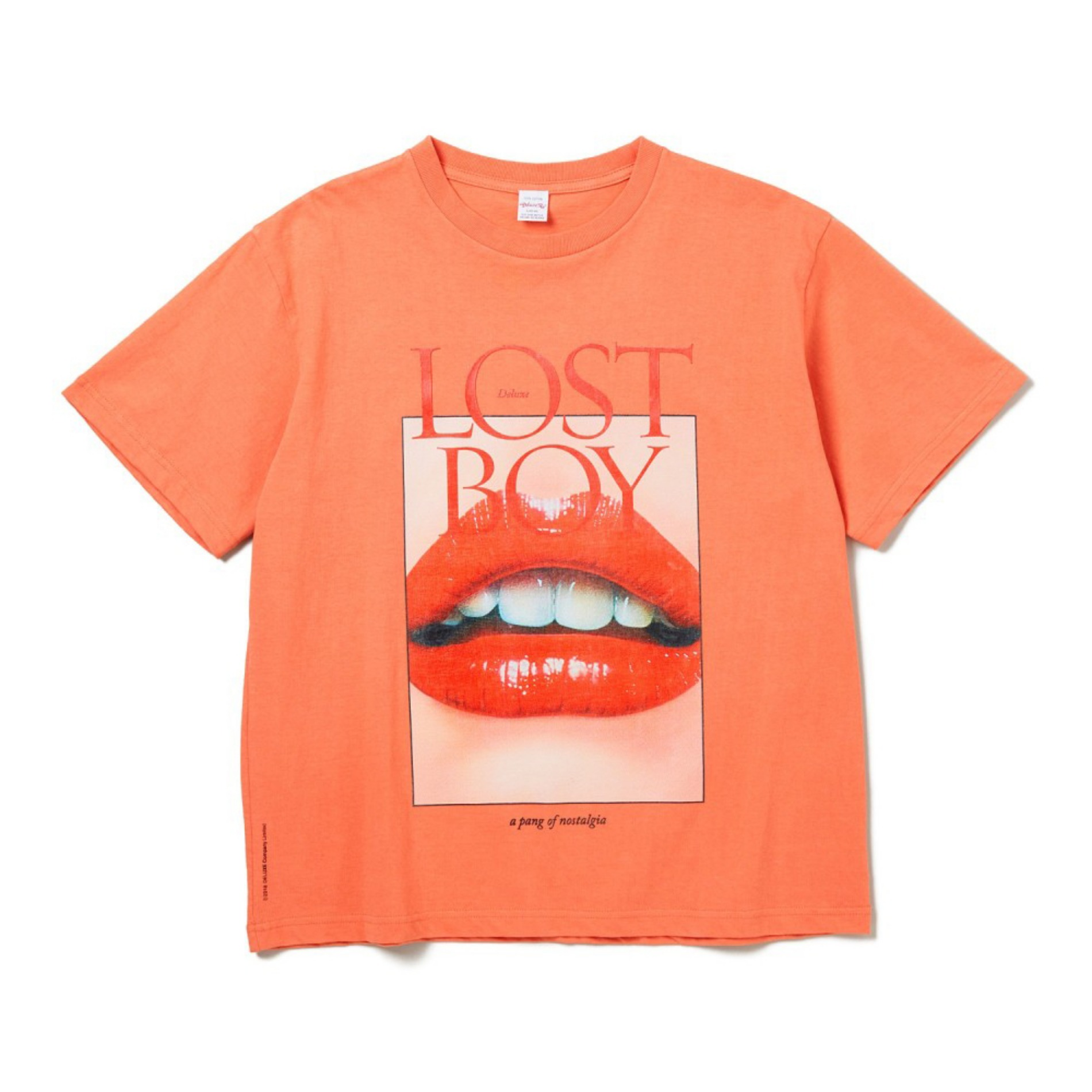20SS DELUXE LOST BOY T-SHIRTS ORANGE