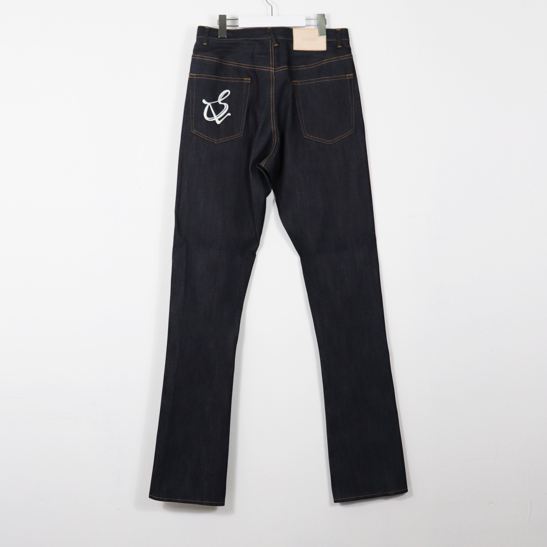 AW20 SULVAM BOOT CUT DENIM PANTS INDIGO