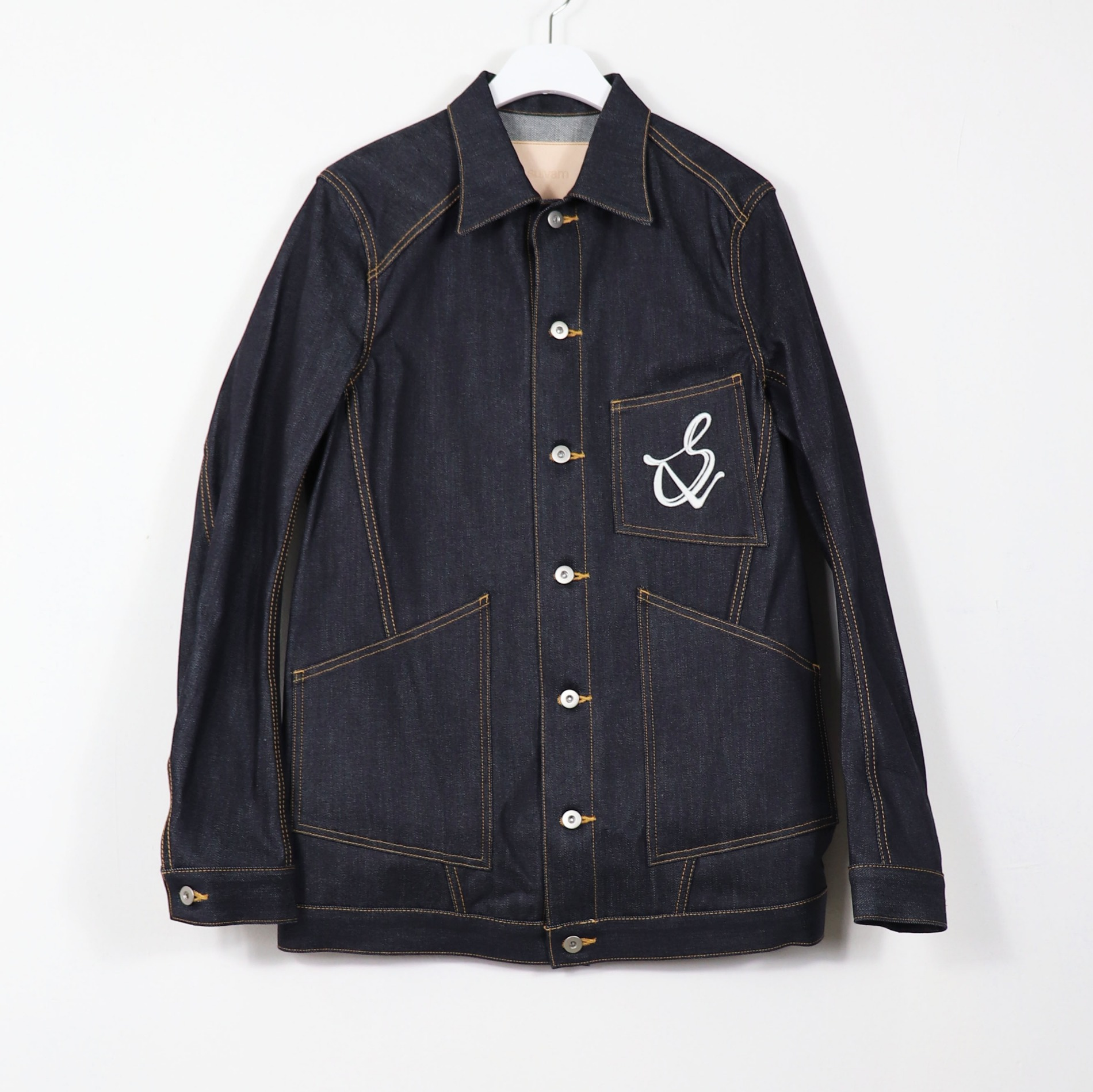 AW20 SULVAM DENIM JACKET INDIGO