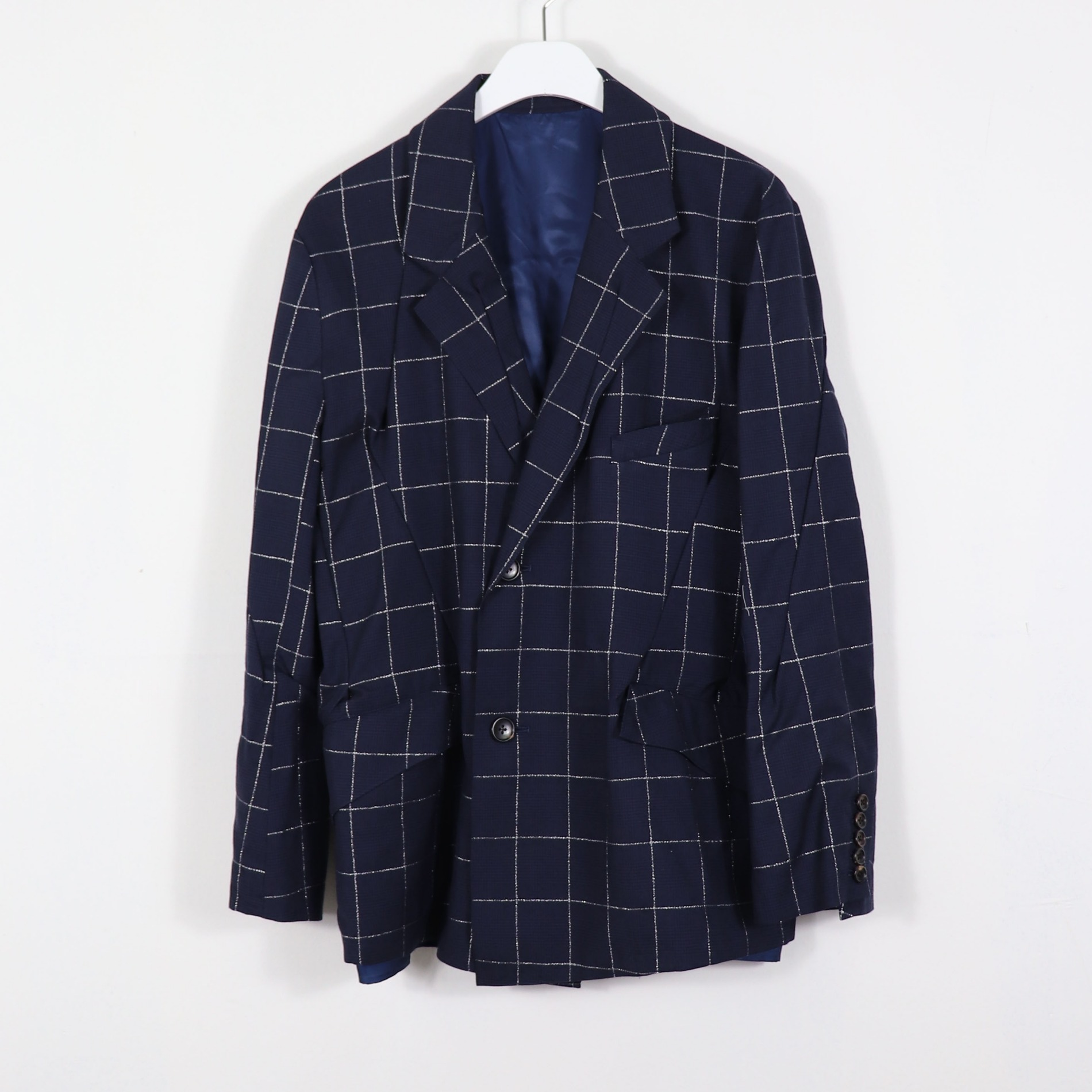 AW20 SULVAM DARTS SINGLE JACKET NAVY