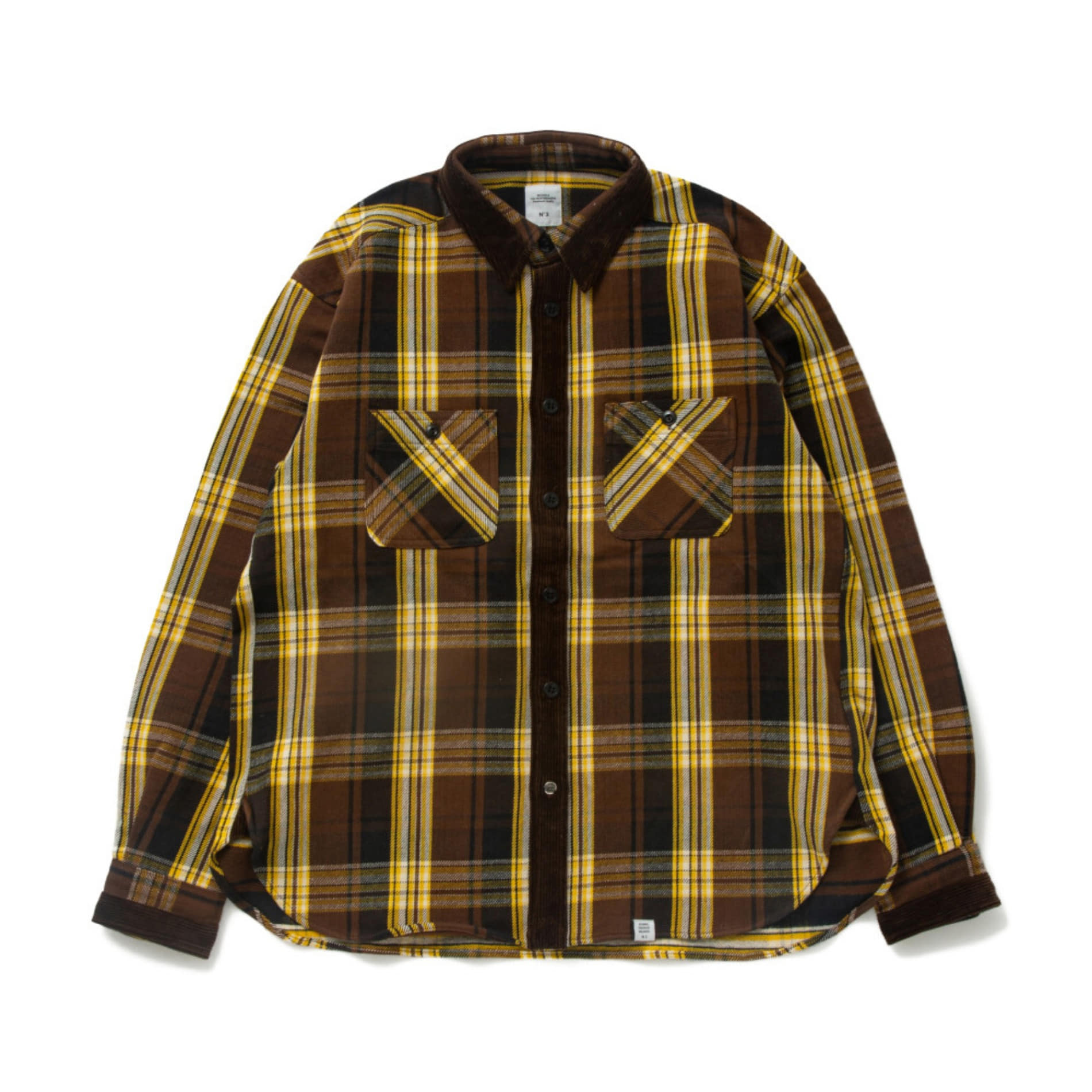 "AW20 BEDWIN L/S FLANNEL SHIRT ""KAY"""